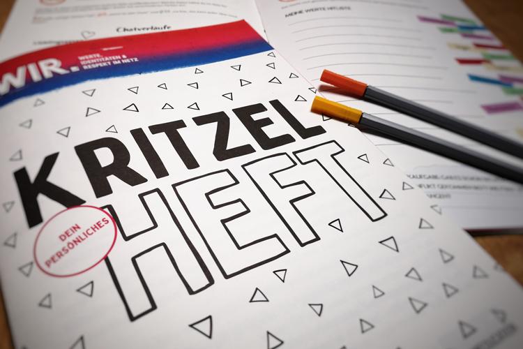 Kritzelheft Titelbild