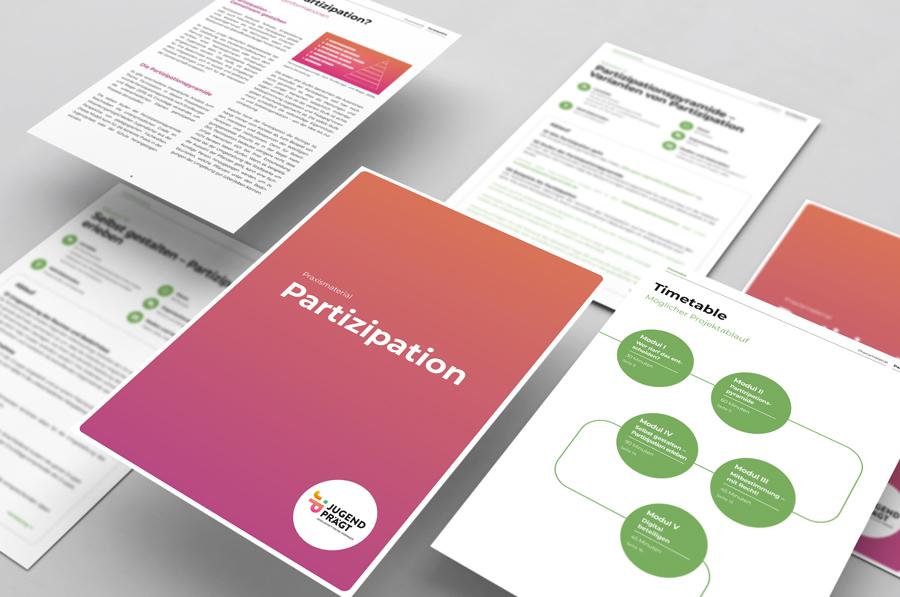 Projekt Jugend prägt Praxismaterial Partizipation